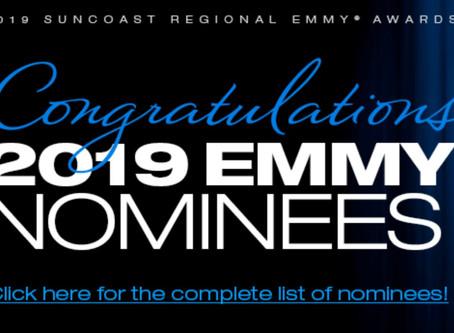SUNCOAST REGIONAL EMMY AWARDS NOMINATION!