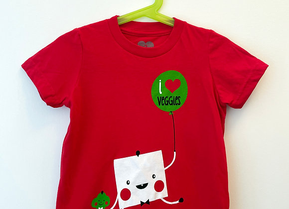 I Love Veggies Tee