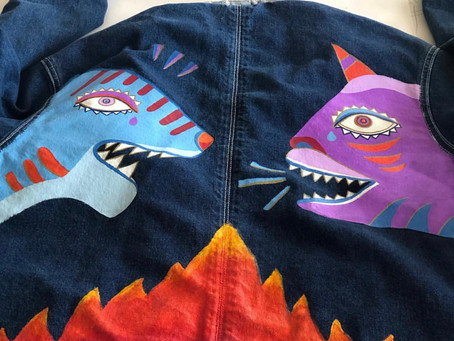 HAND PAINTED JACKETS - México City