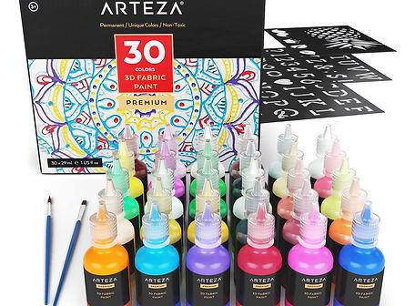 Arteza 3D paint