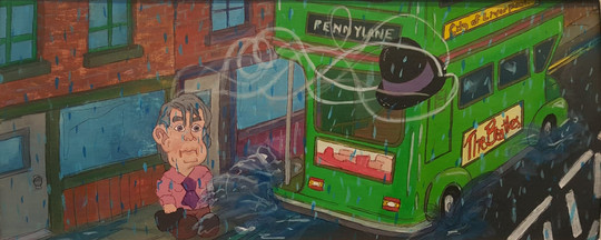 Penny Lane Illustration