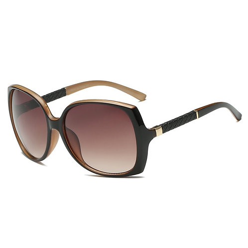 Brown Special Side Arm Sunglasses