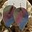 Thumbnail: Multicolor Leather Earrings
