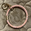 Thumbnail: Cotton Candy Pink Ring Keychain