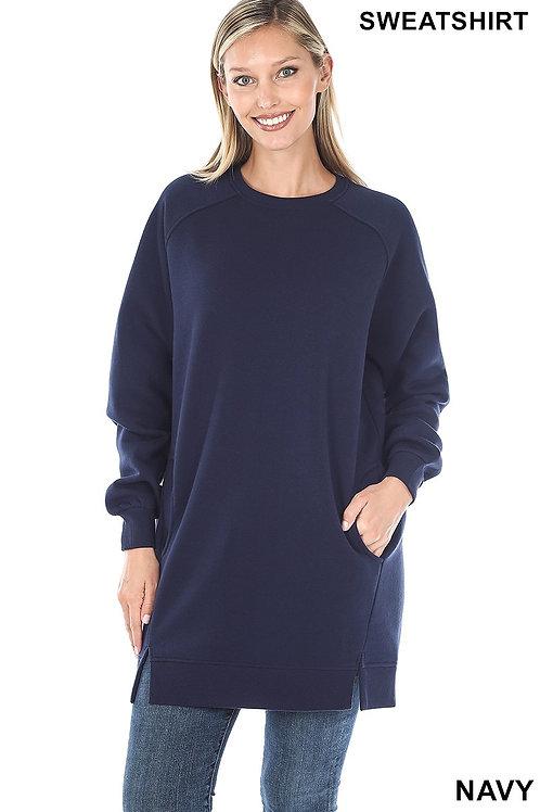 Oversize Loose Fit Sweatshirt