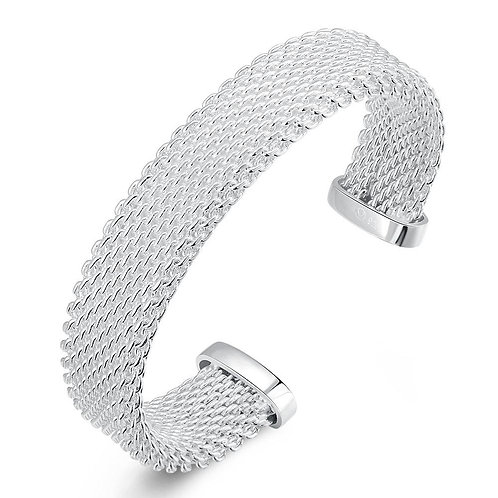 Sainte Marie Bangle in 18K White Gold Plated