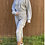 Thumbnail: Gray Hoodie and Capri Fleece Set