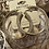 Thumbnail: Gold Color Hoop Earrings