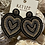 Thumbnail: Beaded Heart Earrings