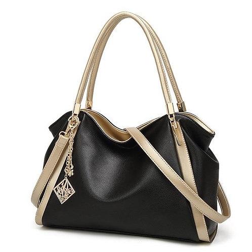Quality Vintage Leather large capacity Shoulder Bag Female Designer