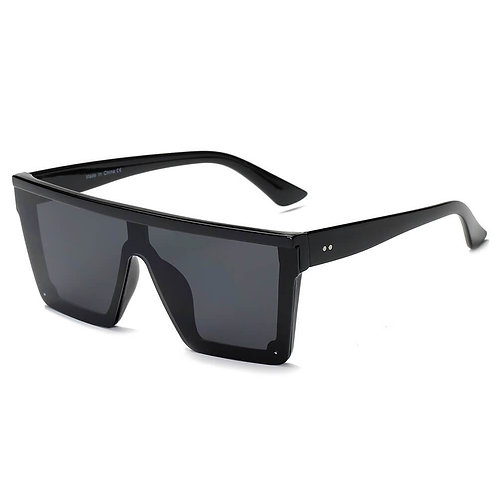 Flat Top Square Oversize Fashion Sunglasses