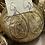 Thumbnail: Oval Goldtone Earrings