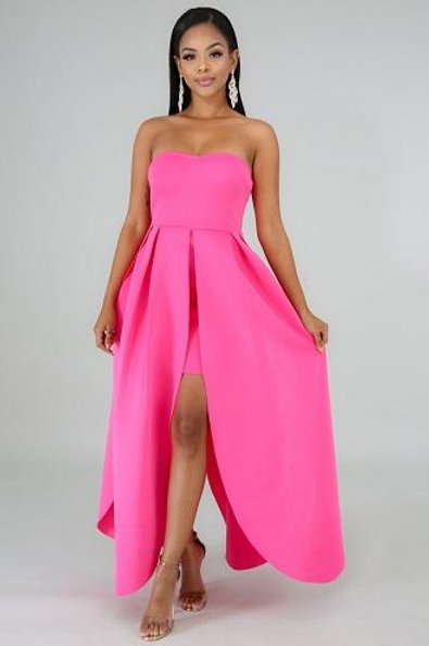 Carina Pink Dress