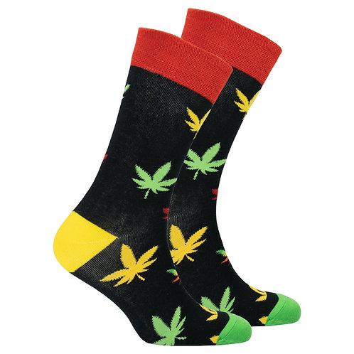 Men's Colorful Weed Socks