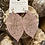 Thumbnail: Pink leaf earrings