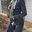 Thumbnail: Charcoal Zip Up Hoodie and Fleece Short Set