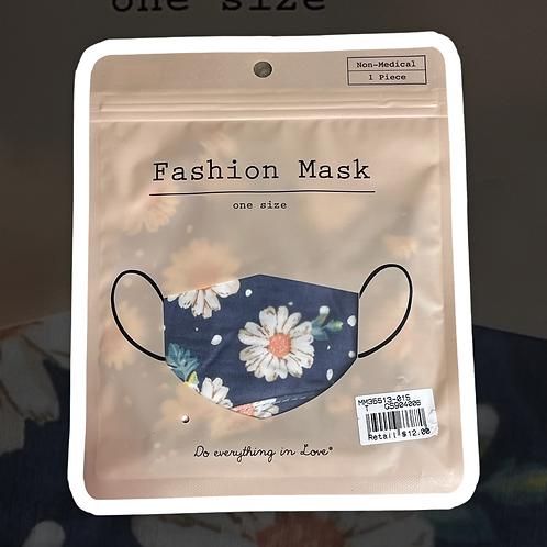 Flowered Fashion Face Mask