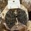 Thumbnail: Black leaf earrings