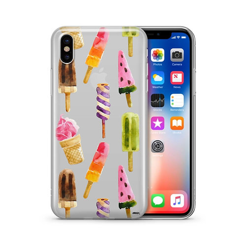 Summer Vibes - Clear Case Cover