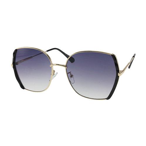 MQ Lola sunglasses in Black / Smoke