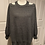 Thumbnail: Long Sleeve Off Shoulder Sweater with Crisscross strap details at the back