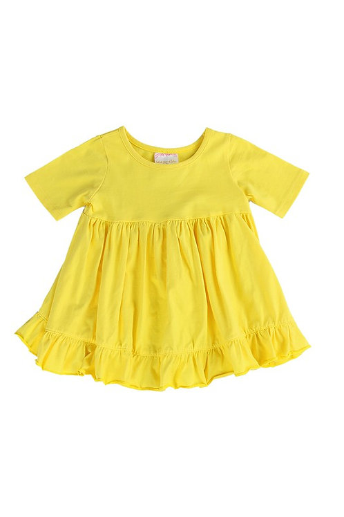 Happy Yellow Ruffle Shirt