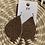 Thumbnail: Leopard leather earrings
