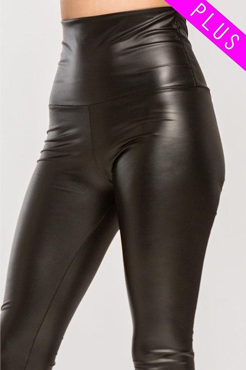 Pleather High Waist Faux Leather Leggings