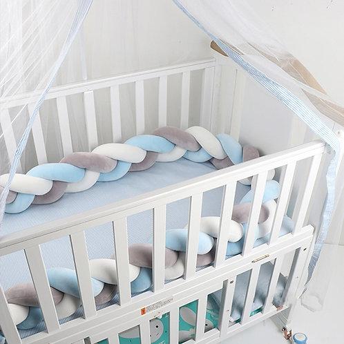 Three Knot Baby Crib Bumper