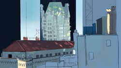color sketch: view