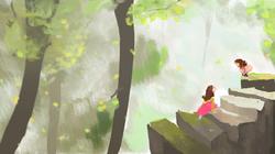 stairway - imaginary world