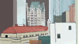 color sketch: view 3