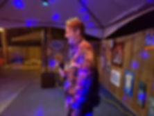 Had Ty Pennington sing with us tonight. Karaoke - Thomas Media Solutions