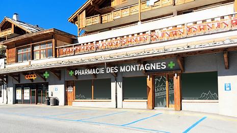 Pharmacie Nendaz Montagnes Santé Haute-Nendaz 4 vallées