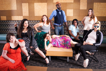 Cast photo for Critical Crop Top Presents: Artificially Intelligent