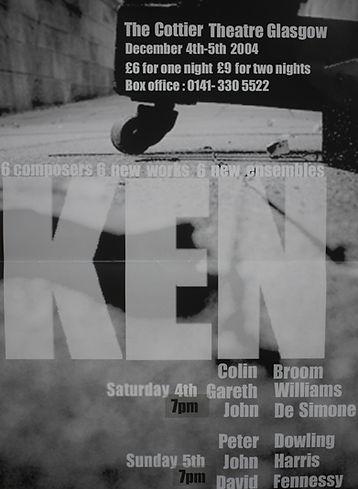 Th original KEN poster.