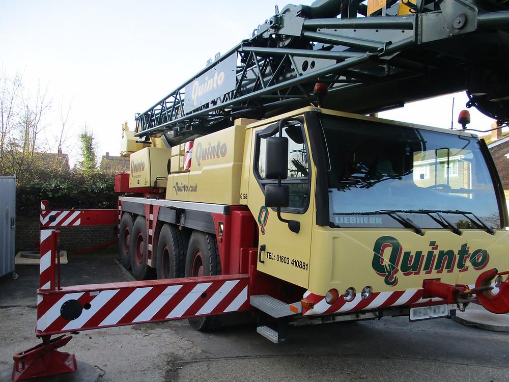 70 Tonne Crane