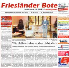 Friesländer Bote 21.11.2020