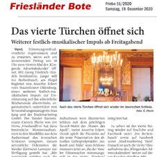 Friesländer Bote 19.12.2020
