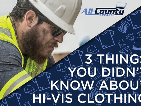 3 things you didn't know about hi-vis clothing