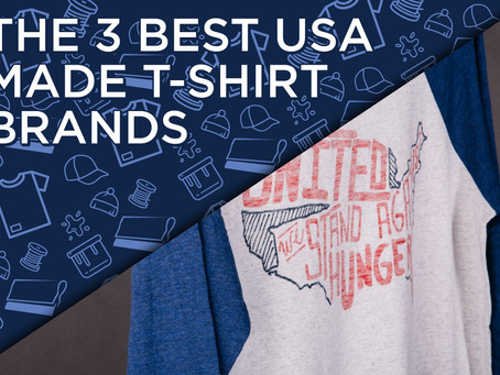 The 3 Best USA Made T-Shirt Brands