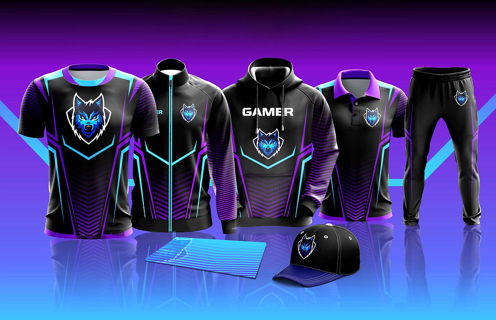 full sublimated gaming jerseys