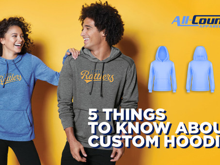 5 Things to know about custom hoodies
