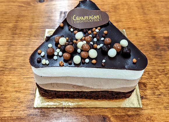 Mousse Trois Chocolats (portion individuelle)