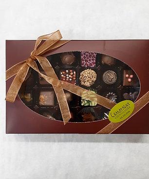 Boîte de 24 chocolats fins