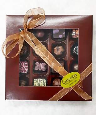 Boîte de 16 chocolats fins