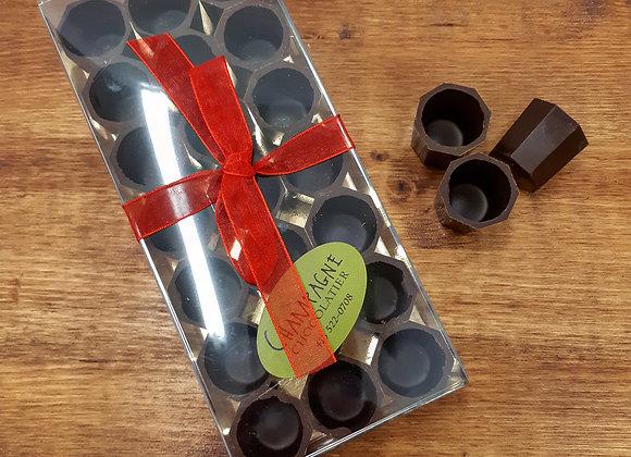 Verres à Porto en chocolat