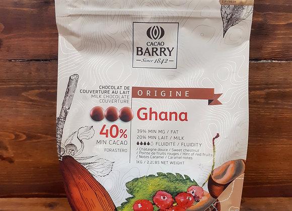 Chocolat d'origine Ghana, Cacao Barry