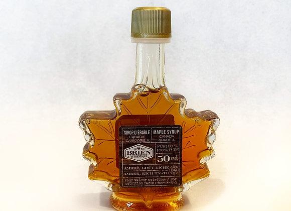 Sirop d'érable bouteille décorative