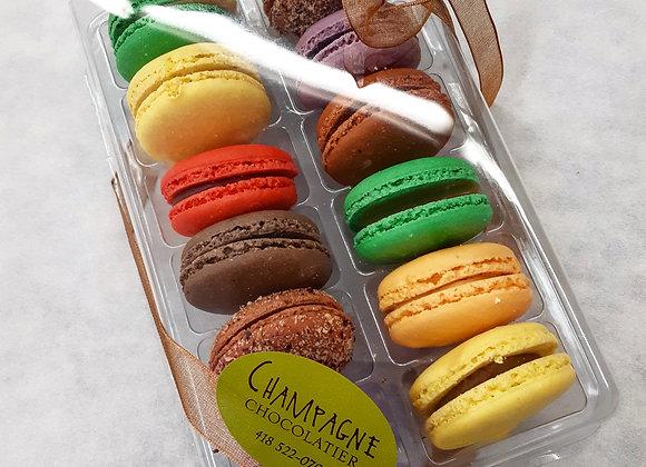 Macarons - Boîte de 12